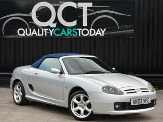 2003 MGTF 1.8 135 Cool Blue Edition *Just 53k Miles + Heated Glass Screen