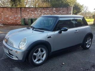 2003 Mini Cooper 1.6 Manual Silver Black 9 Service Stamps NEW STEERING PUMP