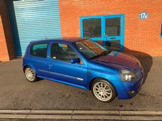 2003 RENAULT SPORT CLIO 172 CUP, LOW OWNERS, LOW MILES, LOVELY CONDITION