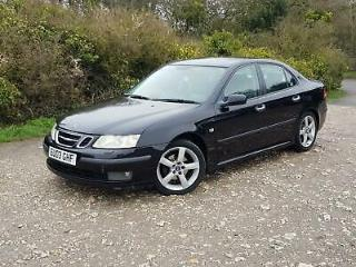 2003 Saab 9 3 1.8t Vector 213.2bhp manual in black