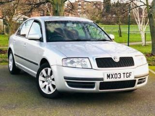 2003 Skoda Superb 1.9 TDI PD 130 Comfort 4dr 4 door Saloon