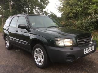 2003 SUBARU FORESTER 2.0ltr X AUTO AWD ESTATE GENUINE 94k FULL SERVICE HISTORY 2