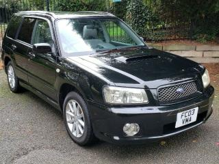 2003 Subaru Forester Cross Sports SG5 2.0 TURBO FRESH IMPORT MANUAL JDM STI