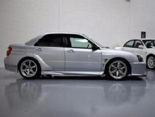 2003 Subaru Impreza WRX STI Widebody 4 door Saloon