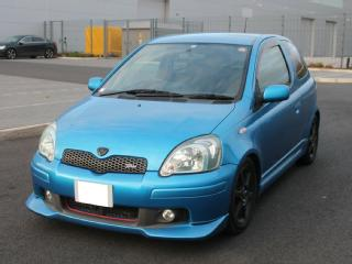 2003 TOYOTA VITZ YARIS 1.5 RS TRD TURBO FRESH IMPORT BLUE 3 DOOR T SPORT STARLET