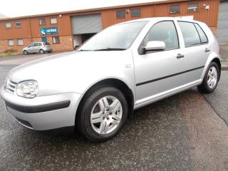 2003 VOLKSWAGEN GOLF MK4 1.4 MATCH SILVER 5/DOOR LOW MILES FIRST TIME DRIVER