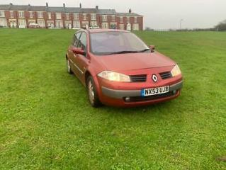 2004/53 Renault Megane 1.9dCi 1 owner from new 3 Months Warranty
