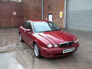 2004 04 Jaguar X TYPE 2.5 V6 Auto Saloon ONLY 21K + Guaranteed mileage