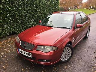 2004 04 ROVER 45 1.4 CLUB 5 DOOR SE ONLY 38600 MILES FROM NEW !