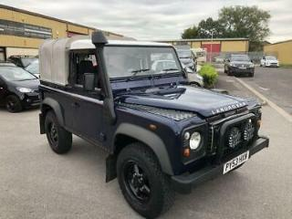 2004 53 LAND ROVER DEFENDER 2.5 90 PICK UP TD5 2DR 120 BHP DIESEL