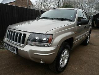 2004 54 Jeep Grand Cherokee 2.7 CRD auto Sport 4x4 Diesel estate cards welcome