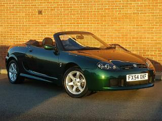 2004 54 MG TF 1.8 135 Sports. Only 34000 miles from new! As MGF