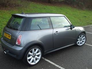 2004 BMW MINI COOPER S R53 SUPERCHARGED IN DARK GREY