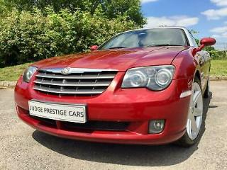 2004 Chrysler Crossfire Coupe 3.2 Automatic Red