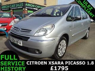 2004 CITROEN XSARA PICASSO 1.8 EXCLUSIVE, 1 OWNER, F/S/HISTORY, M.O.T 07/20