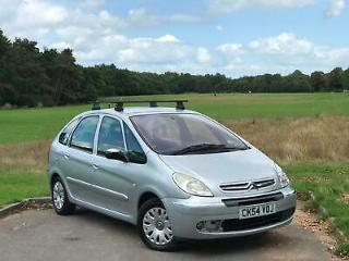 2004 CITROEN XSARA PICASSO 2.0 HDI DIESEL *LONG MOT*LOW MILEAGE*CHEAP CAR