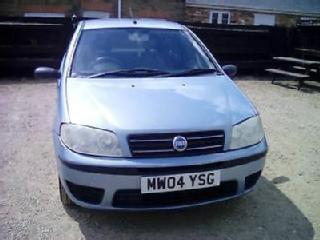 2004 Fiat Punto 1.2 8v Active P/X WELCOME