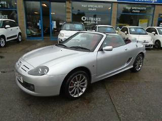 2004 MGTF 1.8 135 80th ANNIVERSARY LE SILVER/SILVER HARDTOP/BLACK+RED LEATHER