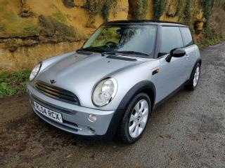 2004 MINI COOPER 1.6 1 PREVIOUS OWNER FROM NEW 72000 MILES