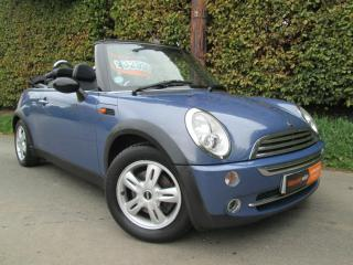 2004 MINI ONE CONVERTIBLE LOW MILES POWER ROOF NEW EXHAUST FITTED 07531842567