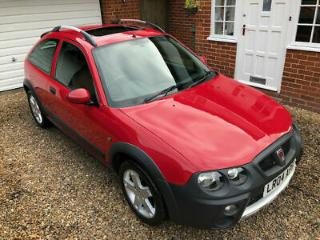 2004 Rover Streetwise 1.4 16v S 45k miles from new Lovely little retro car