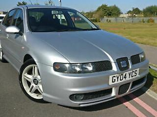 2004 Seat Leon 1.8 20v T Cupra +VERY LOW MILES WITH ONLY 80K