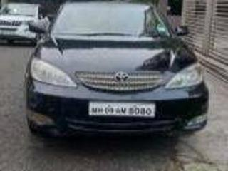 Black 2004 Toyota Camry W1 MT 96000 kms driven in Tarabai Park