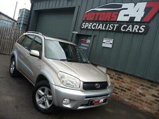 2004 TOYOTA RAV 4 2.0 XT3 5dr+FSH+10 SERVICE STAMPS+2 FORMER KEEPERS