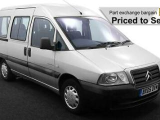 2005 05 CITROEN DISPATCH 1.9D ~ WHEELCHAIR ACCESSIBLE VEHICLE