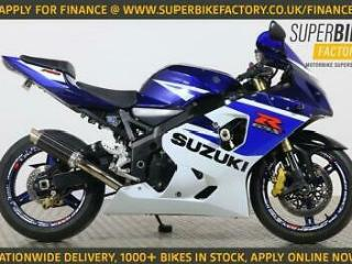 2005 05 SUZUKI GSXR750 NATIONWIDE DELIVERY, USED MOTORBIKE