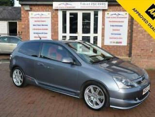2005 55 HONDA CIVIC 2.0 TYPE R 3D 200 BHP