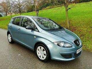 2005 55 SEAT ALTEA 1.9 TDi 105 REFERENCE SAT NAV MEDIA SYSTEM FULL MOT