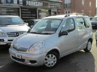 2005 55 TOYOTA YARIS 1.3 VERSO T3 VVT I 5DR AUTOMATIC
