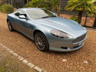 2005 ASTON MARTIN DB9 COUPE MET BLUE/BLUE 18,200 MILES ONLY FSH STUNNING CAR