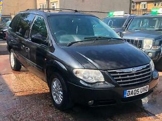 2005 CHRYSLER GRAND VOYAGER 2.8 CRD LX AUTO 7 SEATER IN BLACK