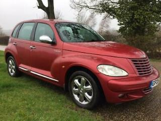 2005 Chrysler PT Cruiser 2.4 Limited, Red Petrol leather manual