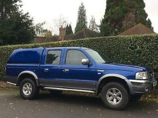 2005 Ford Ranger Pick Up Thunder Double Cab TD 4WD [2005 05] PICK UP Diesel Manu