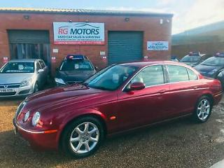 2005 Jaguar S TYPE 2.7D V6 SE Auto Red Diesel Saloon, *ANY PX WELCOME