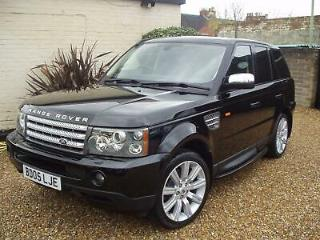 2005 LAND ROVER RANGE ROVER SPORT 4.2 LPG/GAS V8 SUPERCHARGED FIRST EDITION