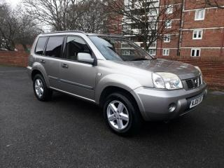 CAR IS NOW SOLD 2005 NISSAN X TRAIL SE 4X4 2.0 PETROL