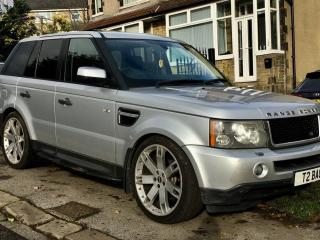 "2005 RANGE ROVER SPORT 2.7 AUTO*HUGE SPEC*FACELIFTED TO 2012*SAT NAV, 22"" ALLOYS"