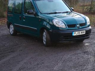 2005 RENAULT KANGOO 1.2 AUTHENTIQUE WHEELCHAIR ACCESSIBLE VEHICLE