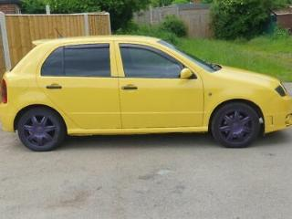 2005 skoda fabia vrs remapped