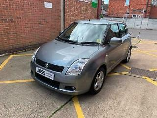 2005 Suzuki Swift 1.5 101bhp GLX 5 doors Metalic Grey Yaris Micra