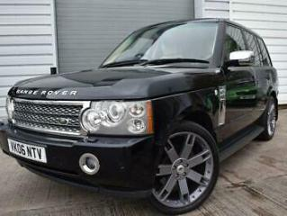 2006 06 LAND ROVER RANGE ROVER 2.9 TD6 VOGUE 5D 175 BHP ELECTRIC SUNROOF HEATED