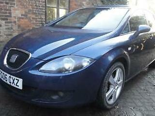 2006 06 SEAT LEON 1.6 Stylance 5DR HATCH BLUE MET*CRUISE*ALLOYS*AIRCON*CD*ABS*EW