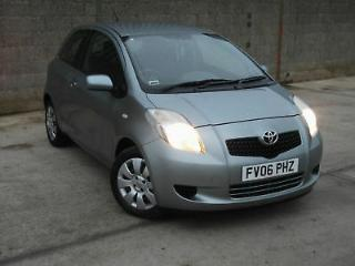 2006 06 Toyota Yaris T3 1.0, Only 75,000 Miles, F/T/S/H, Excellent Condition