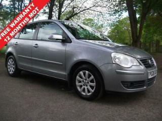 2006 06 VOLKSWAGEN POLO 1.4 SE 5D AUTOMATIC = LOW INSURANCE CHEAP TAX BAND