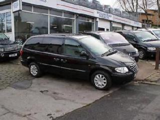 2006 56 CHRYSLER GRAND VOYAGER 2.8 CRD LIMITED XS AUTO DIESEL BLACK