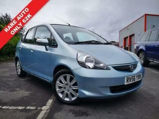 2006 56 HONDA JAZZ 1.3 DSI SE 5D AUTO FSH ONLY 62K RARE SMALL AUTO MOT DEC 2019